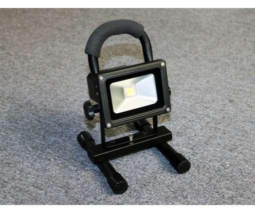 10W Led bouwlamp oplaadbaar