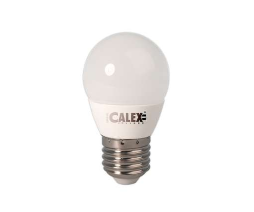 3,4 Watt Calex LED Kogellamp 240V 3,4W E27 P45, 25