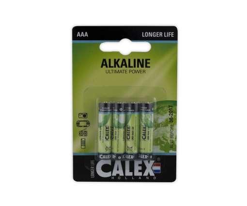 Calex batterijen Alkaline slim penlite LR03/AAA 1,