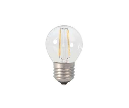 Calex LED Filament Kogellamp E27 2,0W NIET DIMBAAR