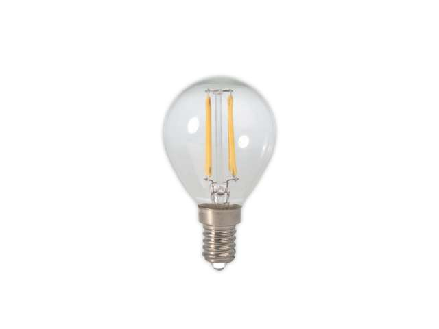 Calex led filament kogellamp e w dimbaar light by leds
