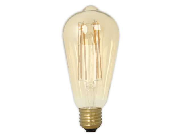 Calex led filament rustieklamp w dimbaar k light by leds