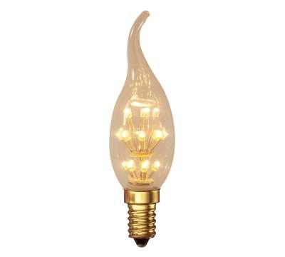 Calex Pearl LED Tip-Kaarslamp 1,0W E14 2100K