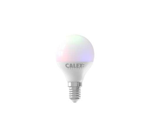 Calex Smart Kogel led lamp 5W 470lm 2200-4000K + RGB