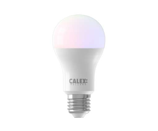 Calex Smart RGB Standaard E27 led lamp 8,5W 806lm 2200-4000K