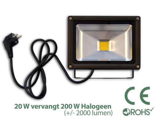 Led Bouwlamp 20 Watt