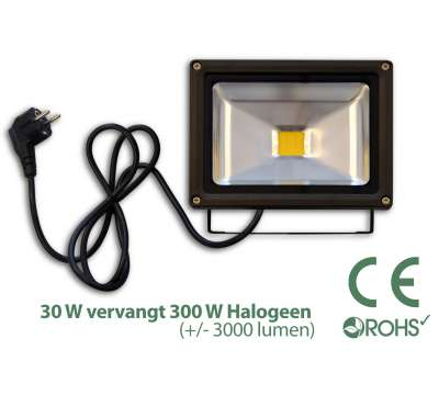 Led Bouwlamp 30 watt