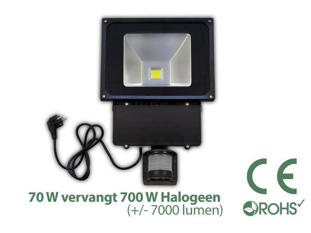 Licht En Bewegingssensor : Led bouwlamp met bewegingssensor watt light by leds