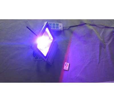 Led Bouwlamp 50 watt RGB (met kleuren)