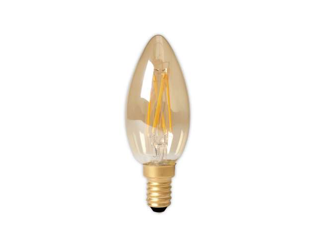 Led lamp calex dimbare led filament kaarslamp w e light by leds