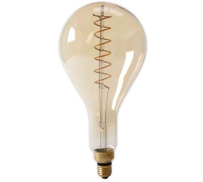 Led lamp Calex LED Lang Filament Splash 4W E40 Gold 2100K Dimbaar