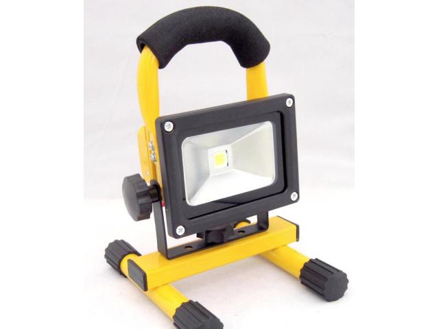 Extreem 10W Led bouwlamp oplaadbaar - Light by leds RH39